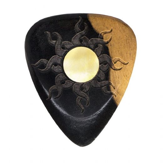 Sun Tones Malay Ebony 1 Guitar Pick